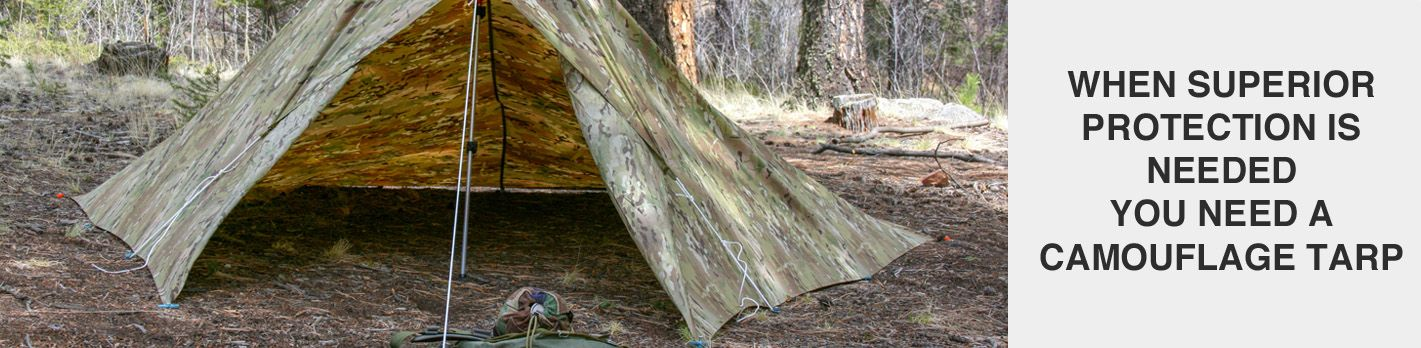 Brown Camouflage Tarps