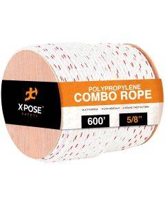 5/8 Poly-Combo 3-Strand Safety Rope
