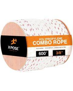 3/8 Poly-Combo 3-Strand Safety Rope