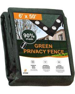 6' x 50' Green Privacy Fence Screen