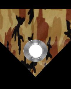 Brown  Camouflage Tarps 7' x 20'