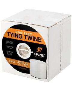 Polypropylene Twine - 3 Ply x 2100 Ft White Poly Twine